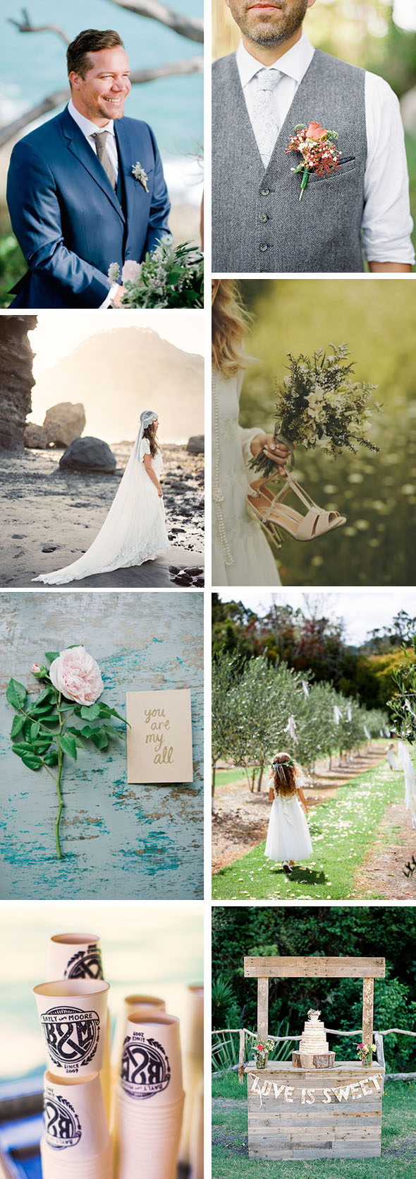 New Zealand Wedding Inspiration