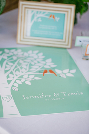 lovebird wedding theme