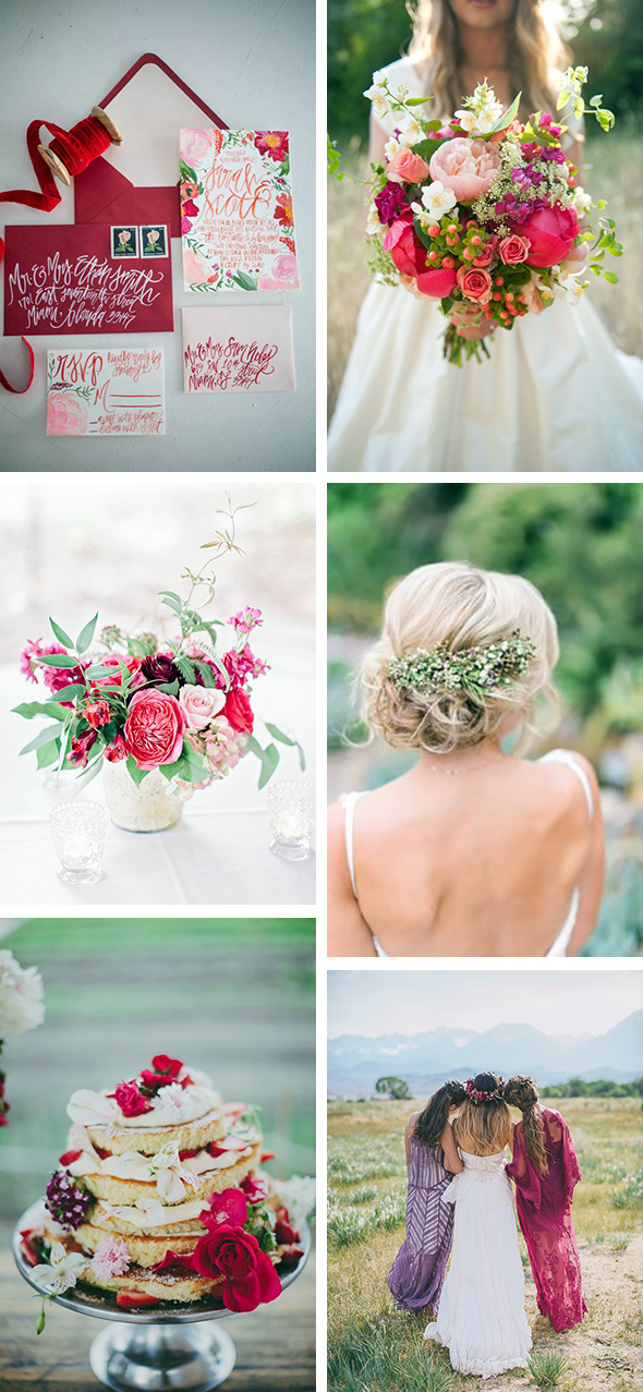 organic wedding ideas