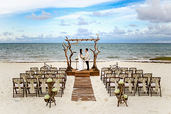 mexico beach wedding ideas from riviera maya