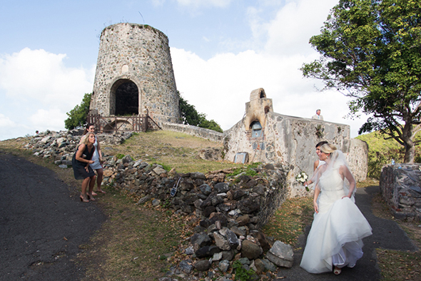 st john wedding locations ruins