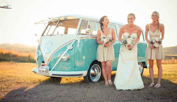 vintage beach weddings