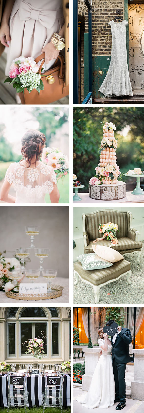 Parisian Wedding Inspiration