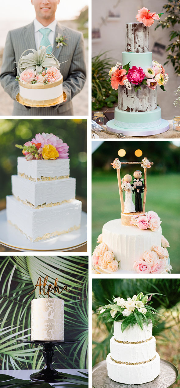 Tropical Cake Topper Inspiration