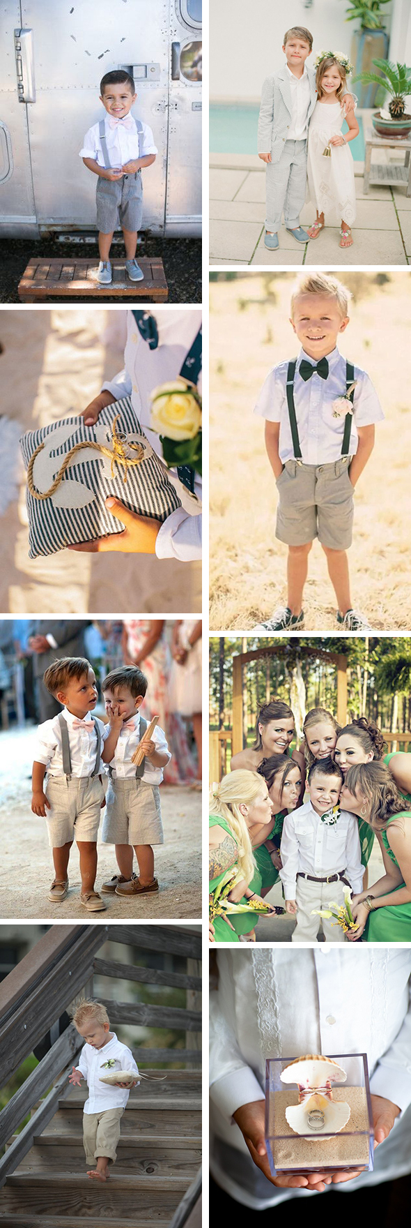 What Your Ring Bearer Should Wear to Your Destination Wedding The