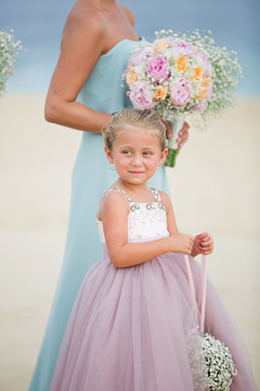 flower girl dress pastel