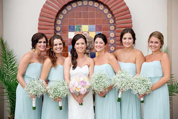 Bridesmaid Robes Pastel Dresses Pale Blue Weddings