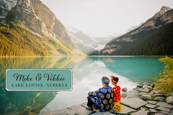lake louise wedding