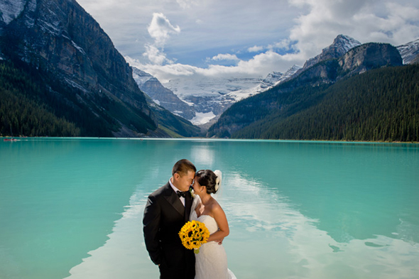 lake louise weddings