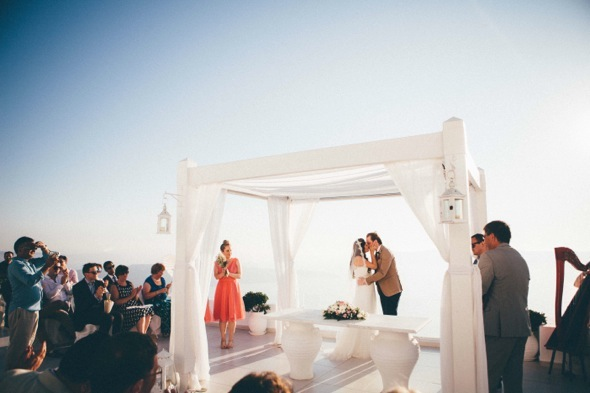 Santorini destination wedding photographers
