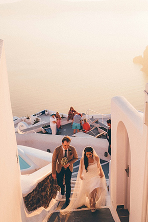 Santorini honeymoons