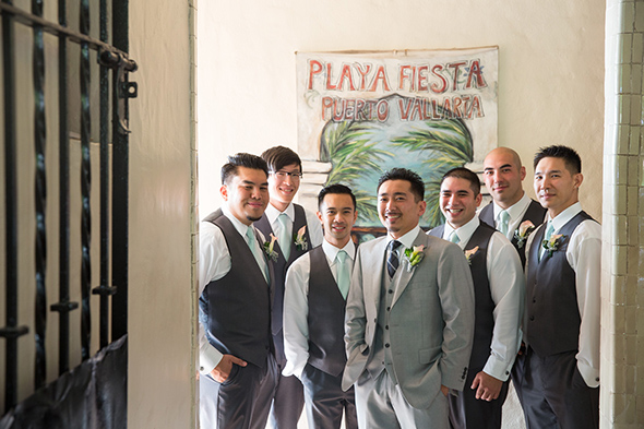 destination wedding groomsmen