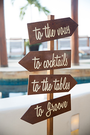 destination wedding signs