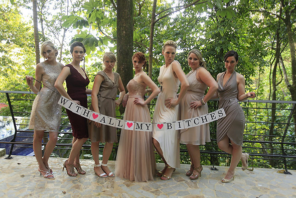 taupe-bridesmaid-dress