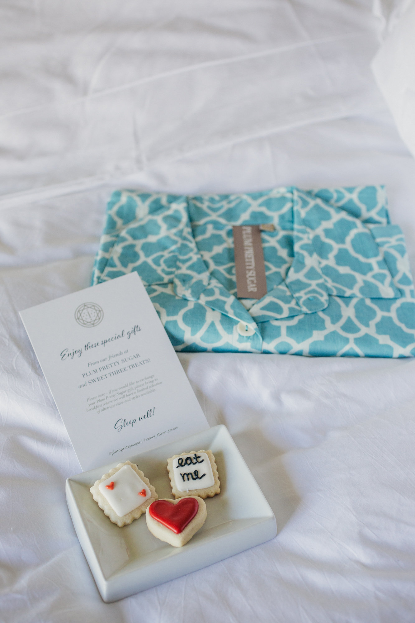 wedding turndown gifts