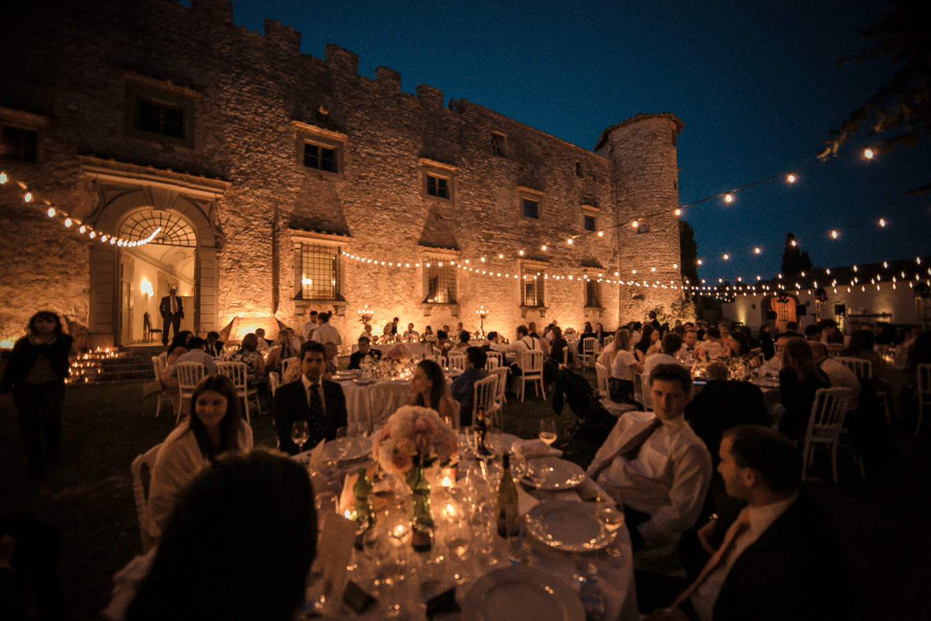 historic wedding location tuscany