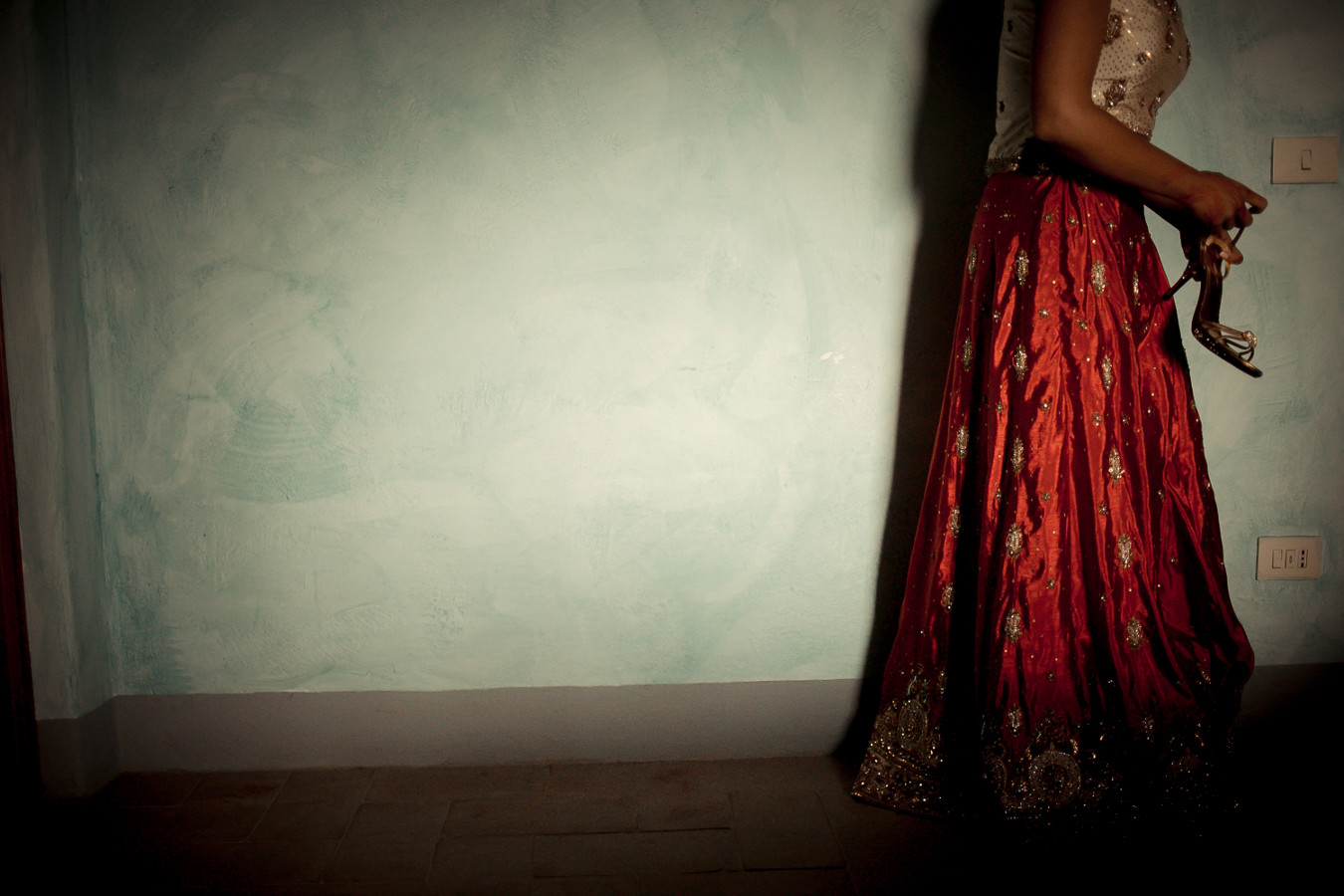 red indian weddings