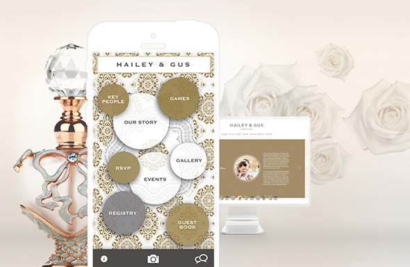 build a wedding website