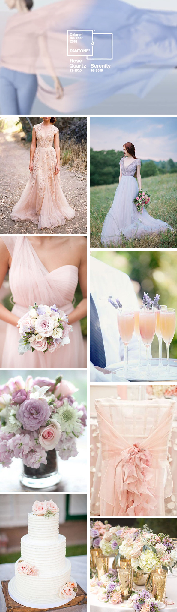 pantone 2016 wedding colors