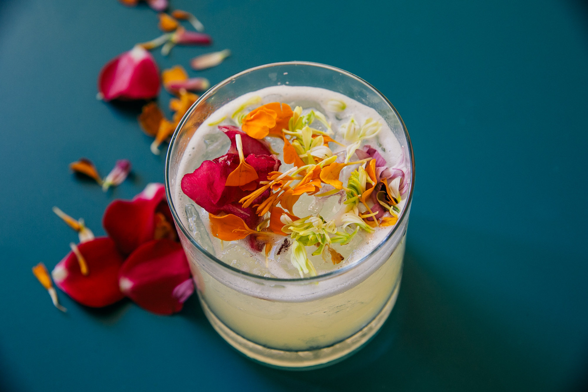 tropical wedding cocktail