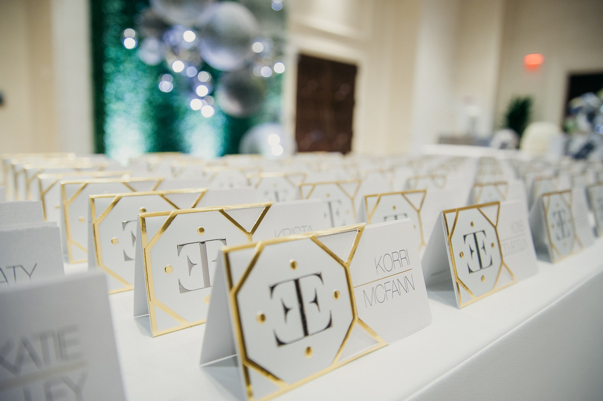 unique place cards