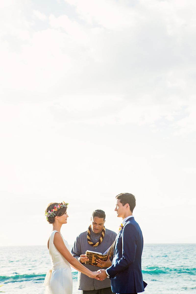 beach wedding location