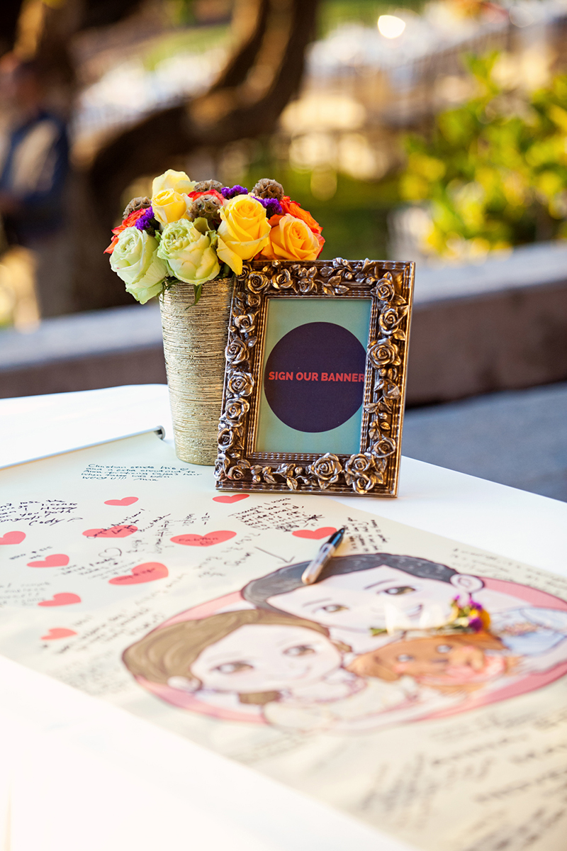 unique wedding guestbook