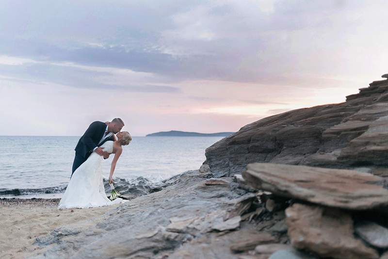 andros island wedding