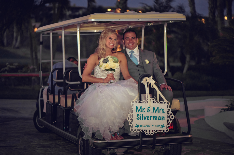 wedding golf carts