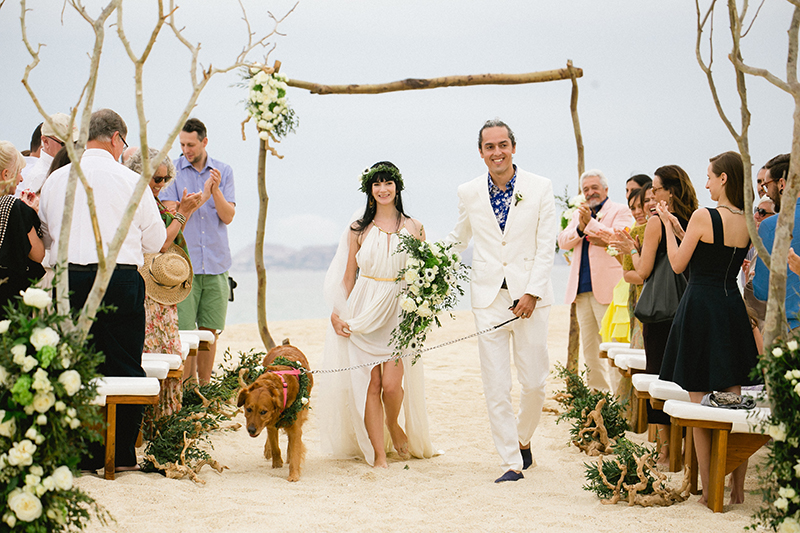 Boho Chic Beach Wedding In Los Cabos Mexico