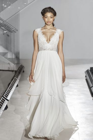 New hayley paige wedding dresses the destination wedding blog hayley paige bridal fall 2016 style 6658 leigh junglespirit Choice Image