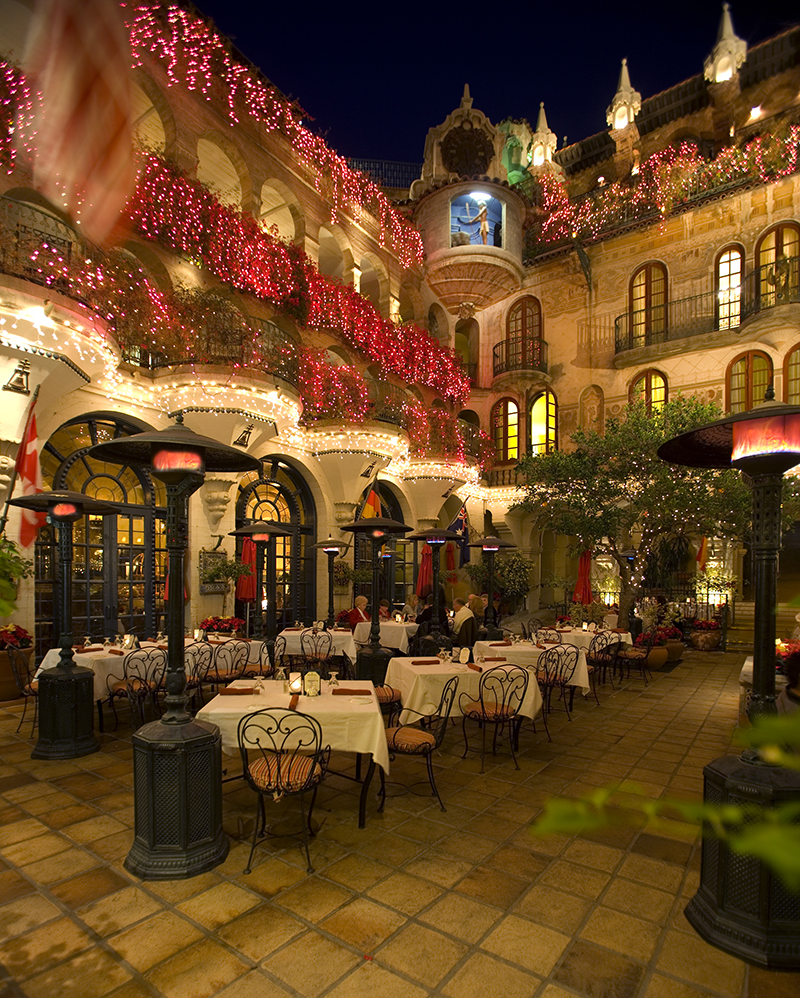 ... Festival of Lights_The Mission Inn Hotel u0026 Spa_Spanish Patio & Historic Destination Wedding Location: The Mission Inn Hotel u0026 Spa azcodes.com