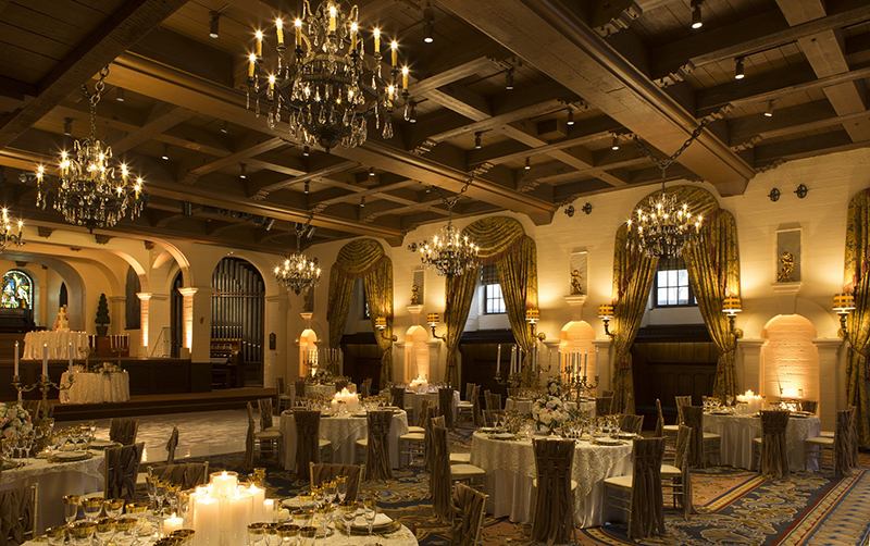 The Mission Inn Hotel & Spa - The Grand Parisian Ballroom - Wedding_Celebration Setup 2