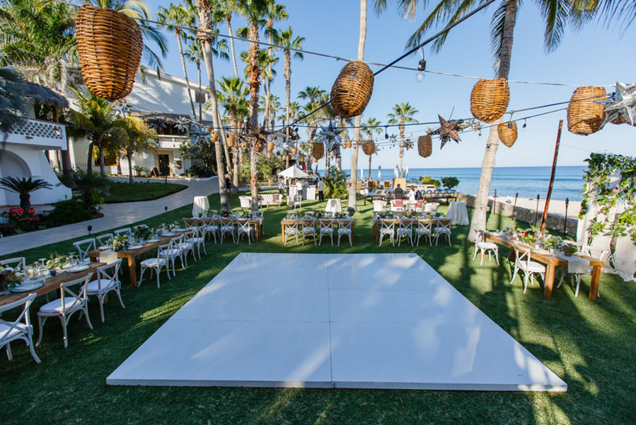 beachfront wedding location