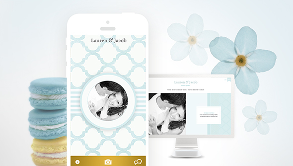 best wedding website and app