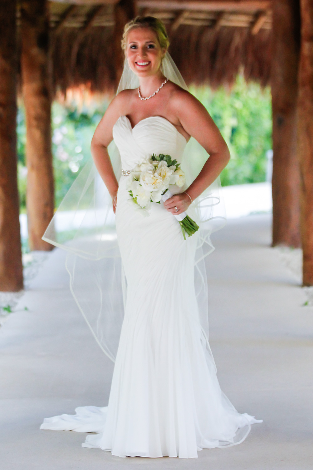 destination wedding dress
