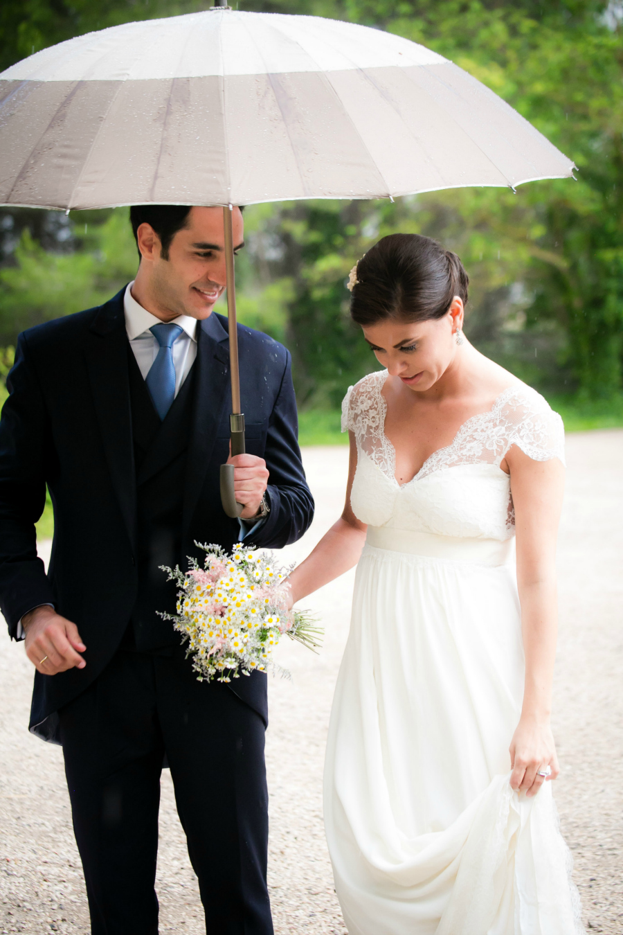 umbrella weddings
