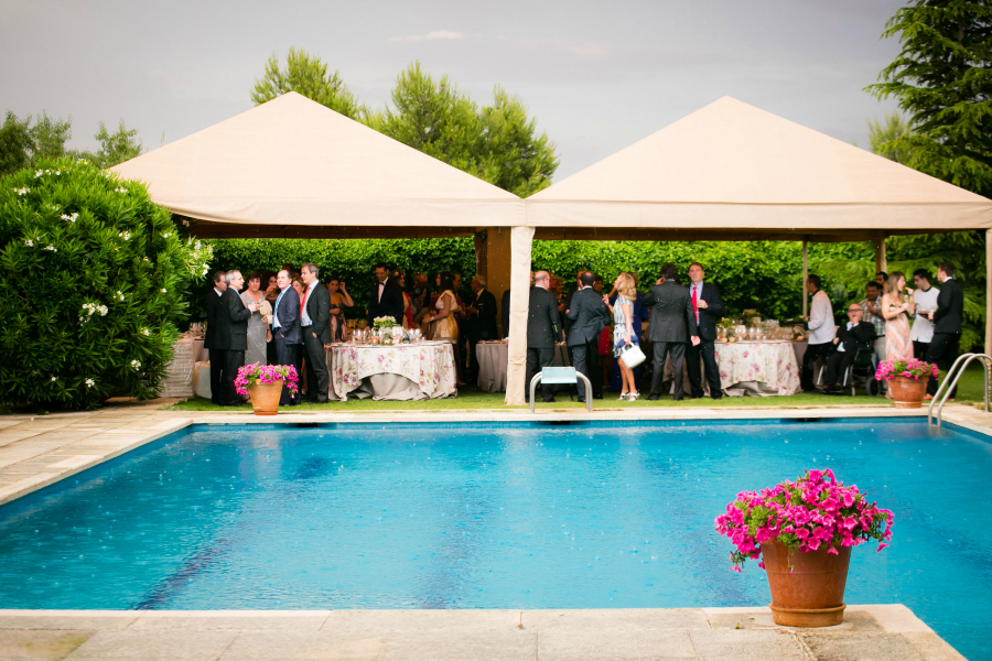 poolside weddings