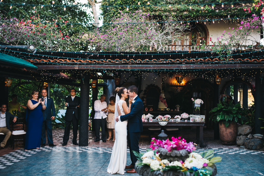garden destination wedding