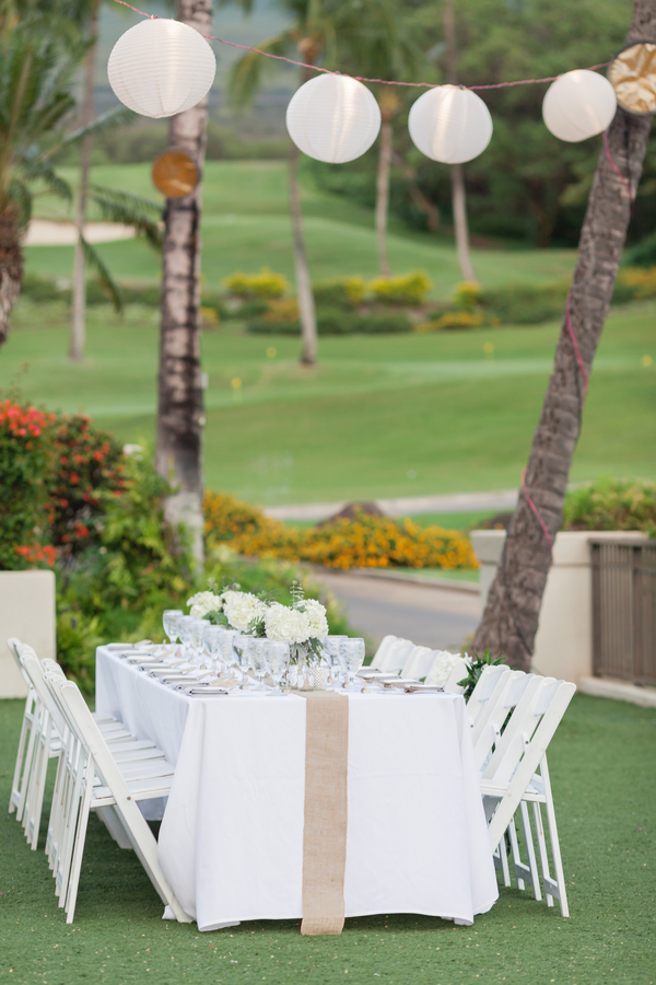 outdoor wedding maui