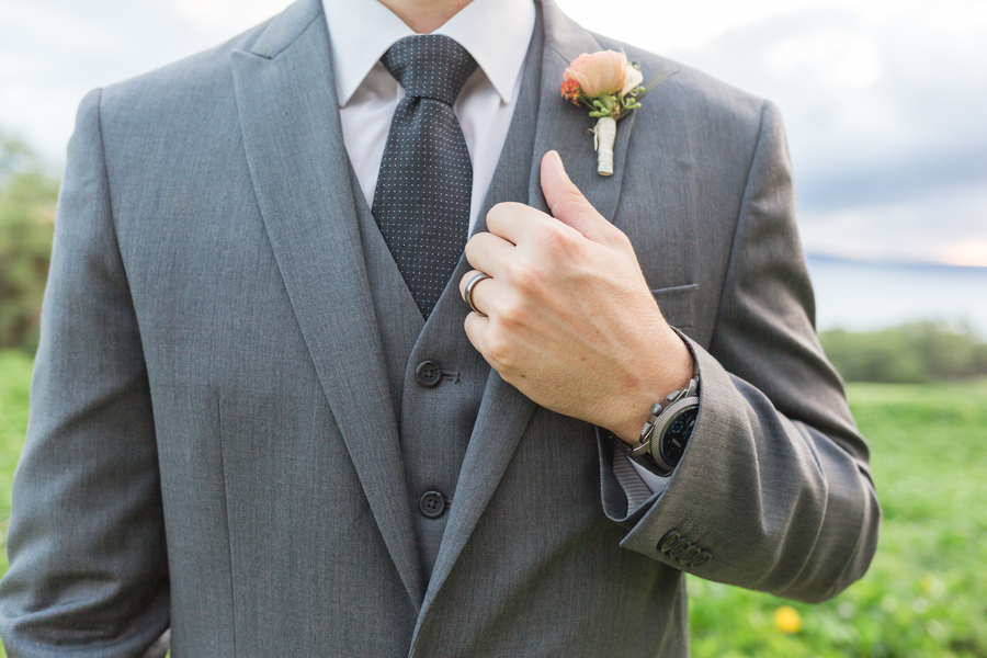 grey grooms suits