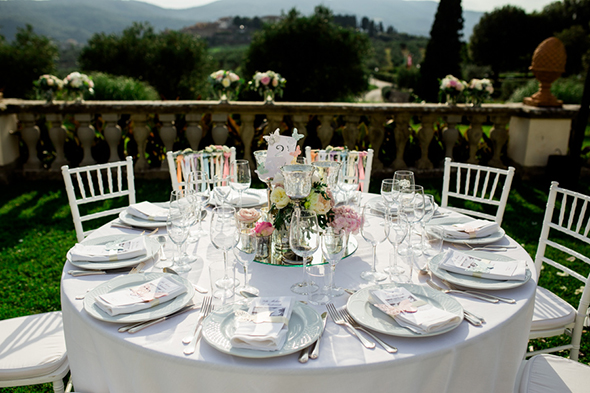 outdoor tuscany wedding