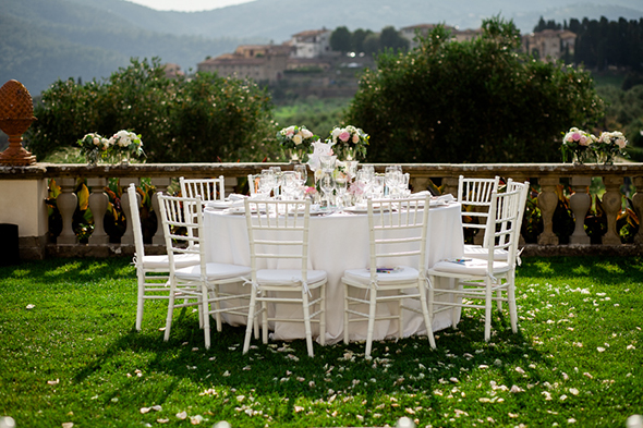 outdoor tuscany weddings