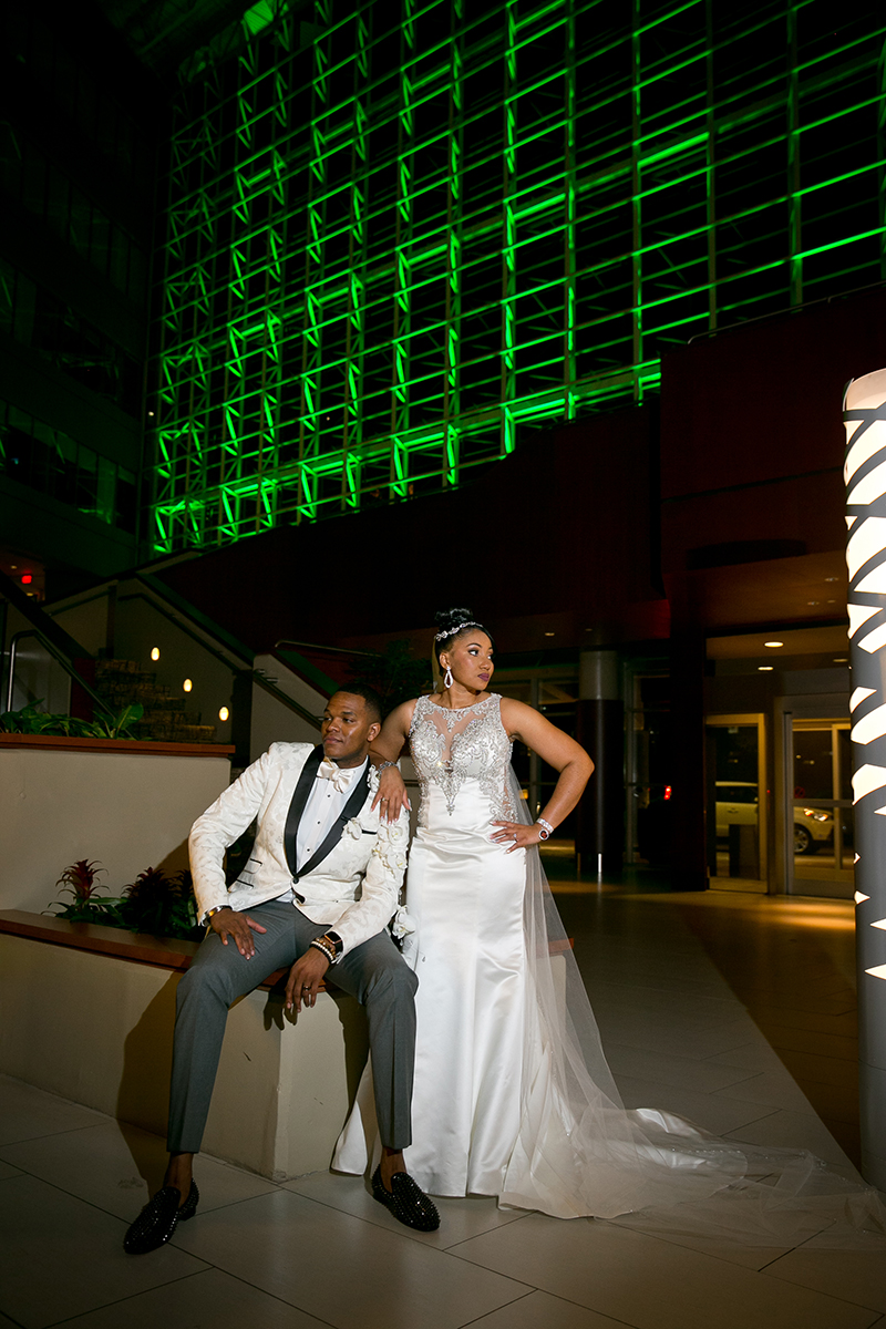 Hyatt Greenville Wedding