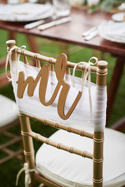wedding signs for chairs