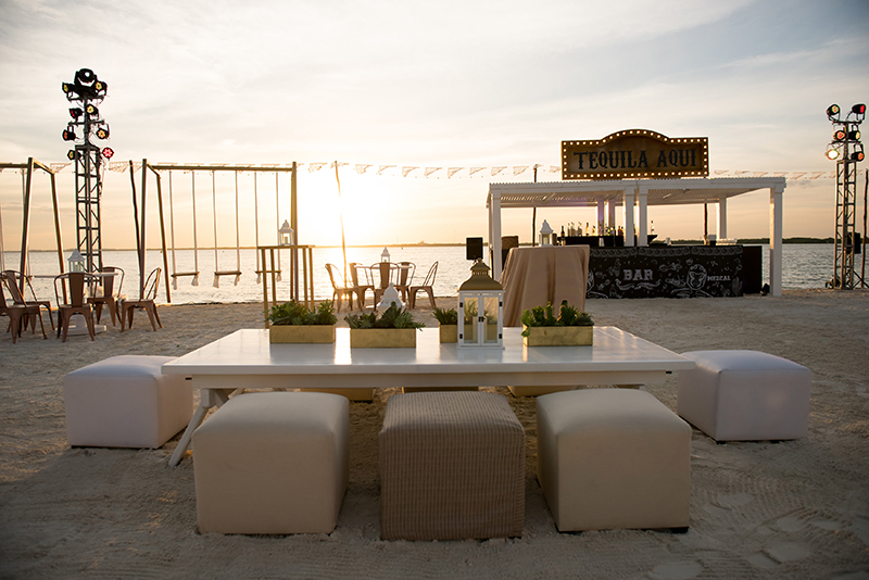 wedding lounge furniture mexico