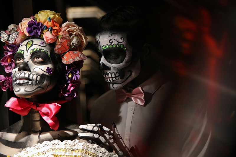 day of the dead wedding theme