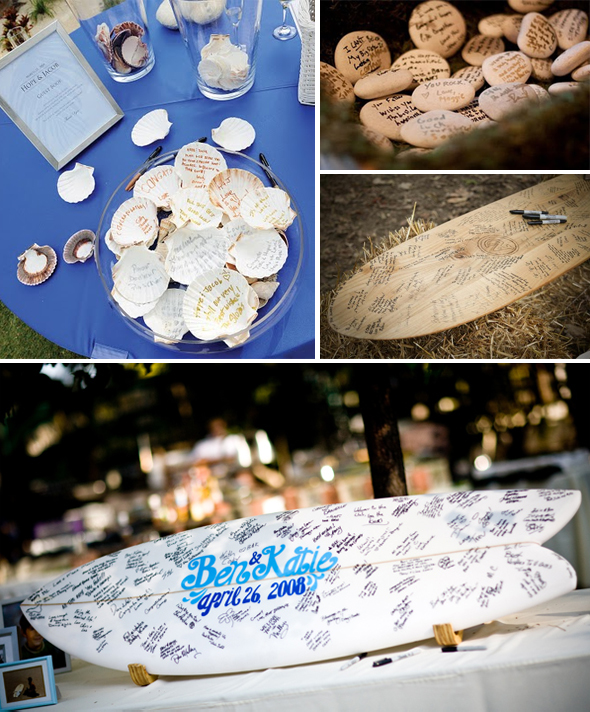 Beach Weddings Guest Book