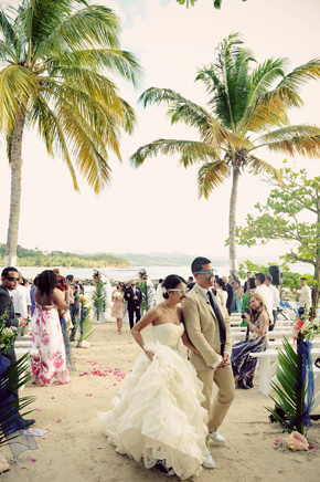 St Lucia Beach Wedding