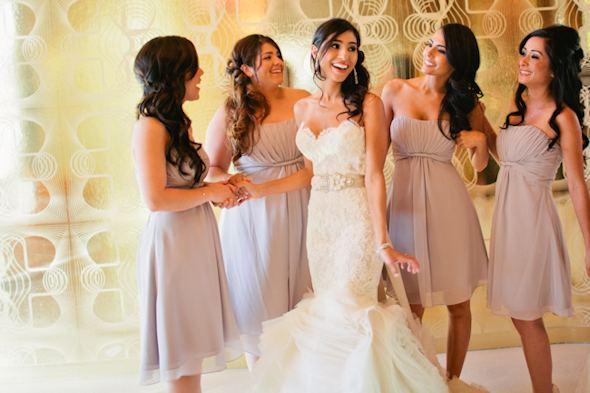 Destination Wedding Lilac Bridesmaid Dresses Pastel. Las Vegas Destination  Wedding A Trip To The Sign Graveyard
